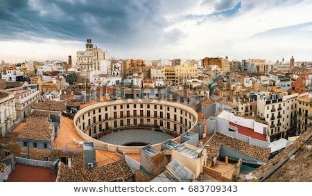 Valencia katedrális Spanyolország kilátás bazilika feltételezés Stock fotó © borisb17