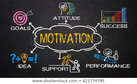 Concept Of Motivation Stock photo © Lightsource