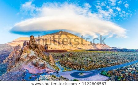 Caminhadas trilha vulcão tenerife canárias Foto stock © ruslanshramko