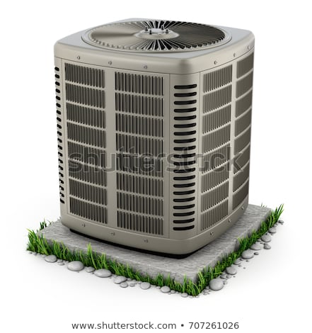 AC Unit Standing Outside Stock photo © AndreyPopov