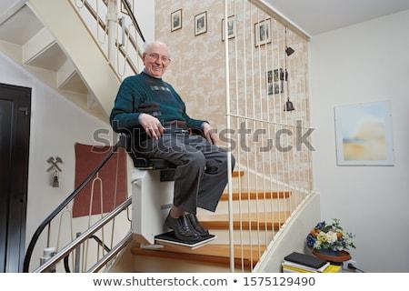 80s starszy osoby kobieta kobiet zdrowia Zdjęcia stock © Lopolo