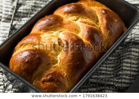 Tatlı ev yapımı maya ekmek gıda Stok fotoğraf © grafvision