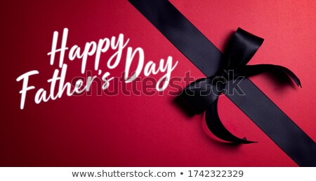happy fathers day celebration background in dark theme Stock photo © SArts