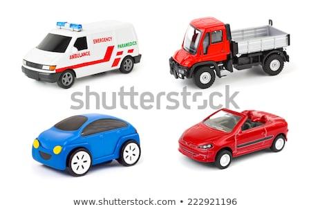 Zabawki samochodu pojazd sprzedaży ceny spadać Zdjęcia stock © AndreyPopov