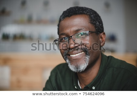 senior African man Stock photo © poco_bw