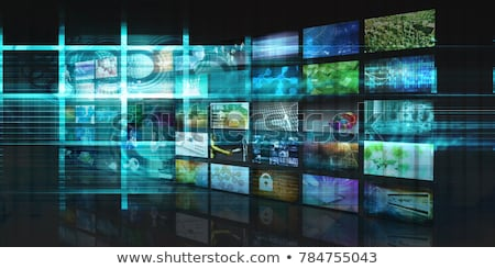 abstract multiple video background Stock photo © pathakdesigner