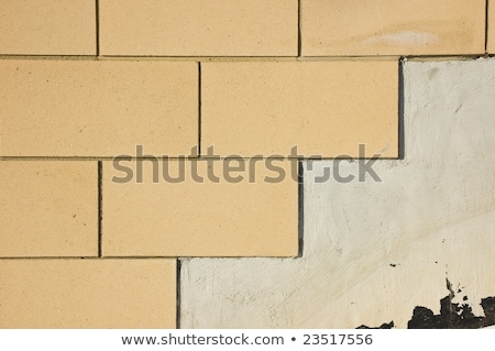 Textur neue genaue grau Backsteinmauer Bau Stock foto © vlaru