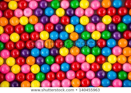 Bright colored gumballs Stock photo © stockfrank