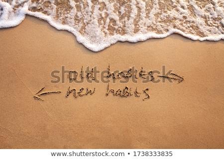 i quit handwriting stock photo © mybaitshop