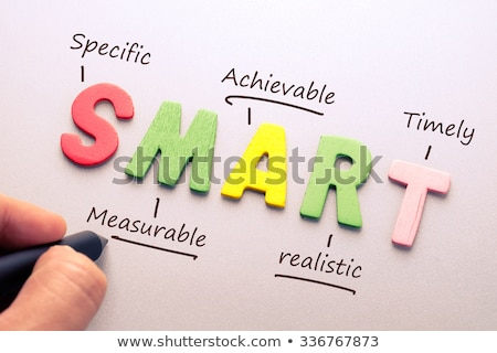 Akronim smart tablicy tle sukces biały Zdjęcia stock © bbbar