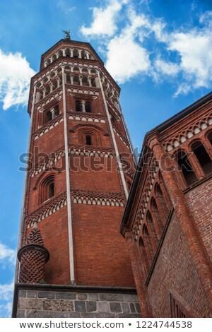 Kerk milaan detail gothic bel Stockfoto © aladin66