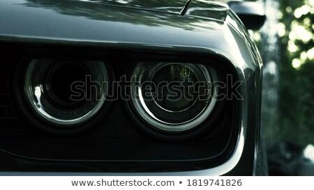 amerikai · autómobil · számítógép · generált · 3d · illusztráció · technológia - stock fotó © ttc