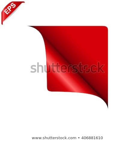 Verkoop uitverkocht nieuwe vector hoek iconen Stockfoto © orson
