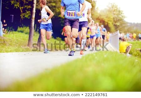 マラソン グループ スポーツ 健康 スポーツ フィート ストックフォト © ruigsantos