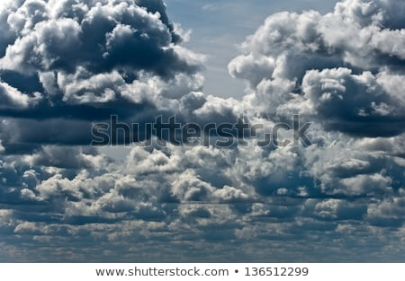 Cumulus cloud with lightning Stock photo © pzaxe