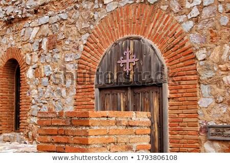 Calatravas Church Architectural Details Stock photo © rognar