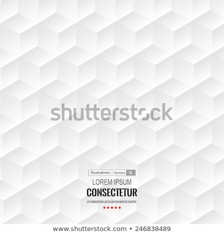 Plastic Hexagon Mosaic stock photo © VolsKinvols