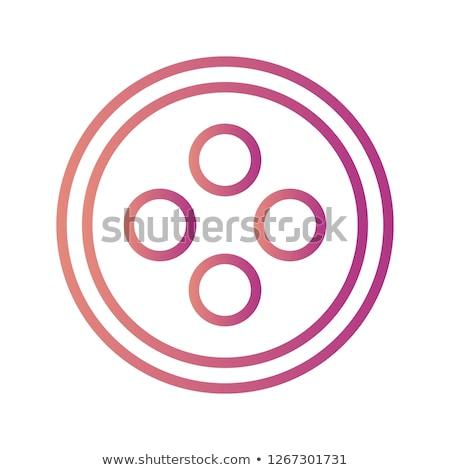 Pano conjunto botões textura madeira projeto Foto stock © designsstock