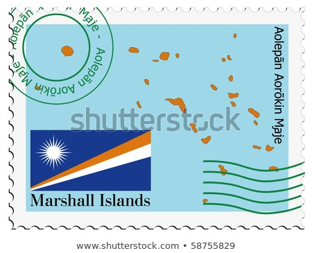 mail to-from Marshal Islands Stock photo © perysty