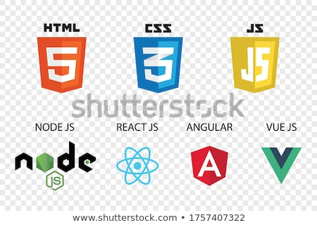 HTML & CSS tags Stock photo © timbrk