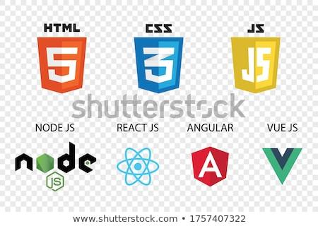 Foto stock: Tiquetas · HTML · CSS