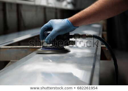 Using a sander Stock photo © photography33