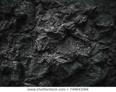kaba · tuğla · duvar · inşaat · duvar · sokak · siyah - stok fotoğraf © imaster