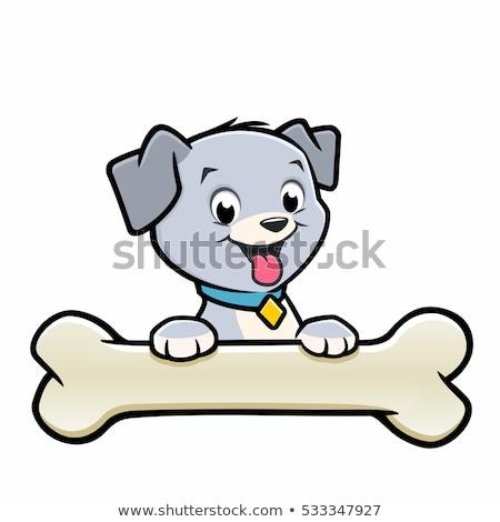 Feliz cachorro Cartoon perro juguete animales Foto stock © dagadu