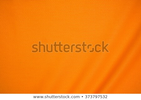 Stock photo: Orange Jersey Mesh