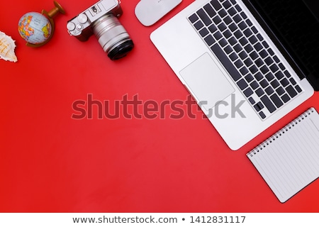 Red Portable Mouse Stock photo © newt96