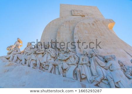 彫刻 リスボン ポルトガル 海 海 青 ストックフォト © inaquim