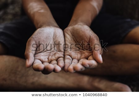 Begging Hand Stock photo © winterling