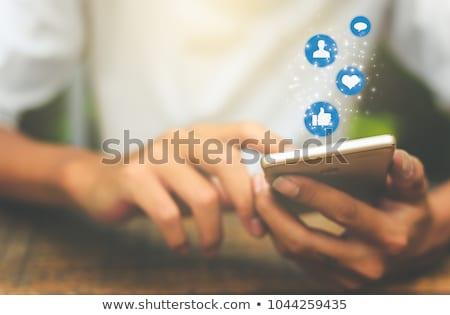 социальной связи аннотация смесь нет Сток-фото © bagiuiani