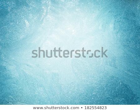 Ijs water textuur bevroren sneeuw Stockfoto © pab_map
