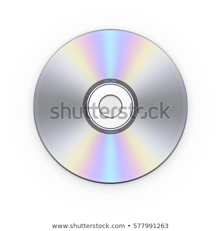 Dysk elektroniki wektora białe tło clipart Zdjęcia stock © zzve