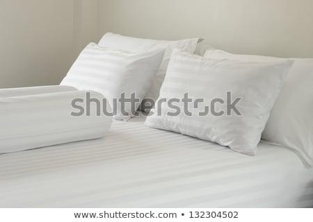 ベッド シート マットレス カバー 孤立した ストックフォト © JohnKasawa