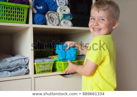 children from closet Stock photo © Paha_L