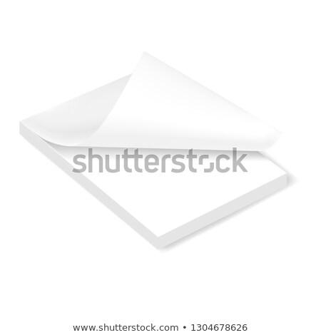 Stack of Adhesive Notes Stock photo © zhekos