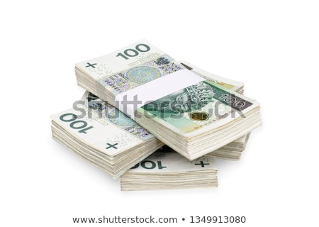 Polish money with clipping path Stock photo © sqback