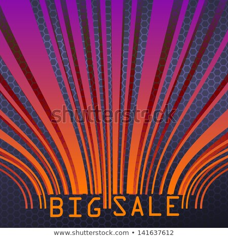 Big Sale bar codes all data is fictional. EPS 10 Stock photo © beholdereye
