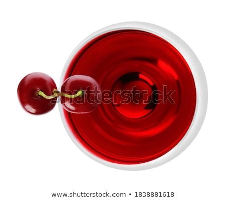 cherry liqueur stock photo © alinamd