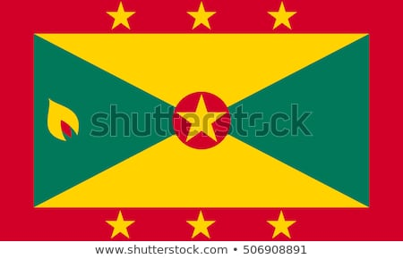 флаг · Гренада · иллюстрация · карта · Мир · совета - Сток-фото © flogel