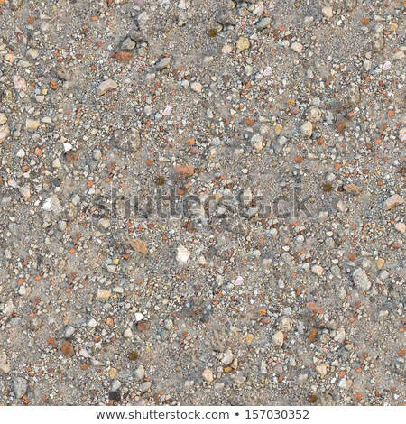 Seamless Texture of Fragment Mixed Soil. Stock photo © tashatuvango