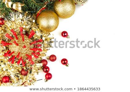 çikolata · Noel · yılbaşı · hediye · şerit · sunmak - stok fotoğraf © mariephoto
