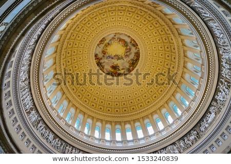 edifício · Washington · DC · noite · EUA · céu · cidade - foto stock © billperry