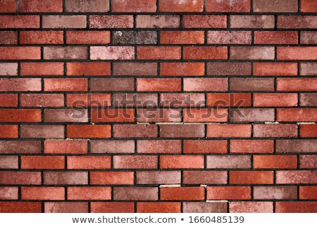 vermelho · tijolo · branco - foto stock © devon