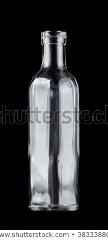 Vazio vidro branco cristal elegante brilhante Foto stock © lucielang