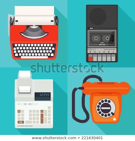 vintage printing calculator stock photo © epstock
