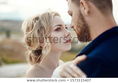 Portrait of the bride stock photo © dashapetrenko