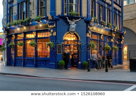 Traditional English Pub stock photo © leetorrens